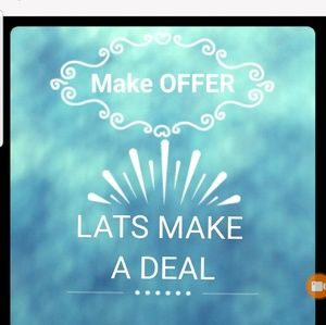 Other - MAKE ME A OFFER DONT BE SCARED🤗